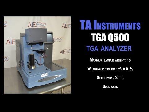 T.A. Instruments TGA Q500 (5312C THERMAL)