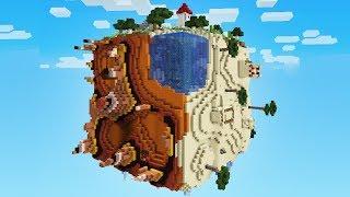 Minecraft: SE EU CAIR DESSE MUNDO CÚBICO O VÍDEO ACABA!