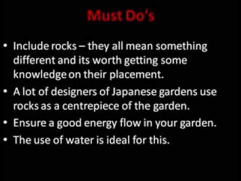 Creating A Japanese Garden For A Small Space OR Yard