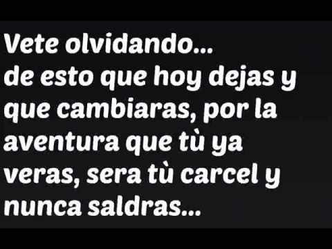"""TU CARCEL """"Fidel Rueda"""" LETRA 2013 - YouTube"""