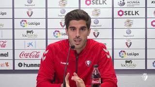 """Nacho Vidal. """"Es el último partido en casa de 2018 y debemos echar el resto"""""""