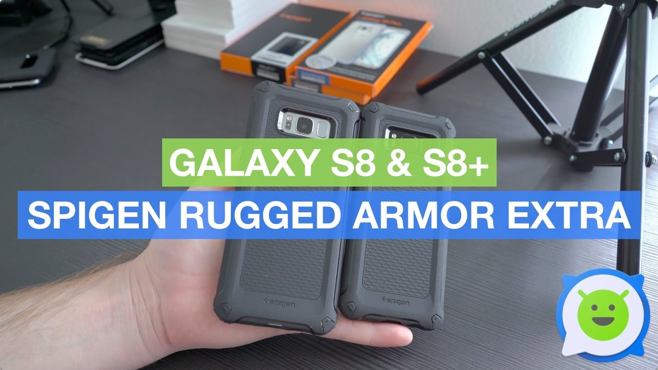 competitive price be45b 13d6b Galaxy S8 & S8+ Spigen Rugged Armor Extra case