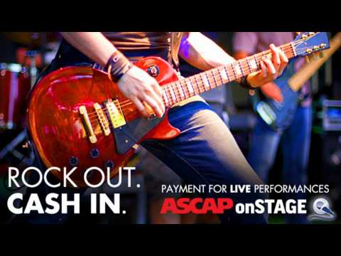 ASCAP Onstage: Collect Royalties for Live Performances