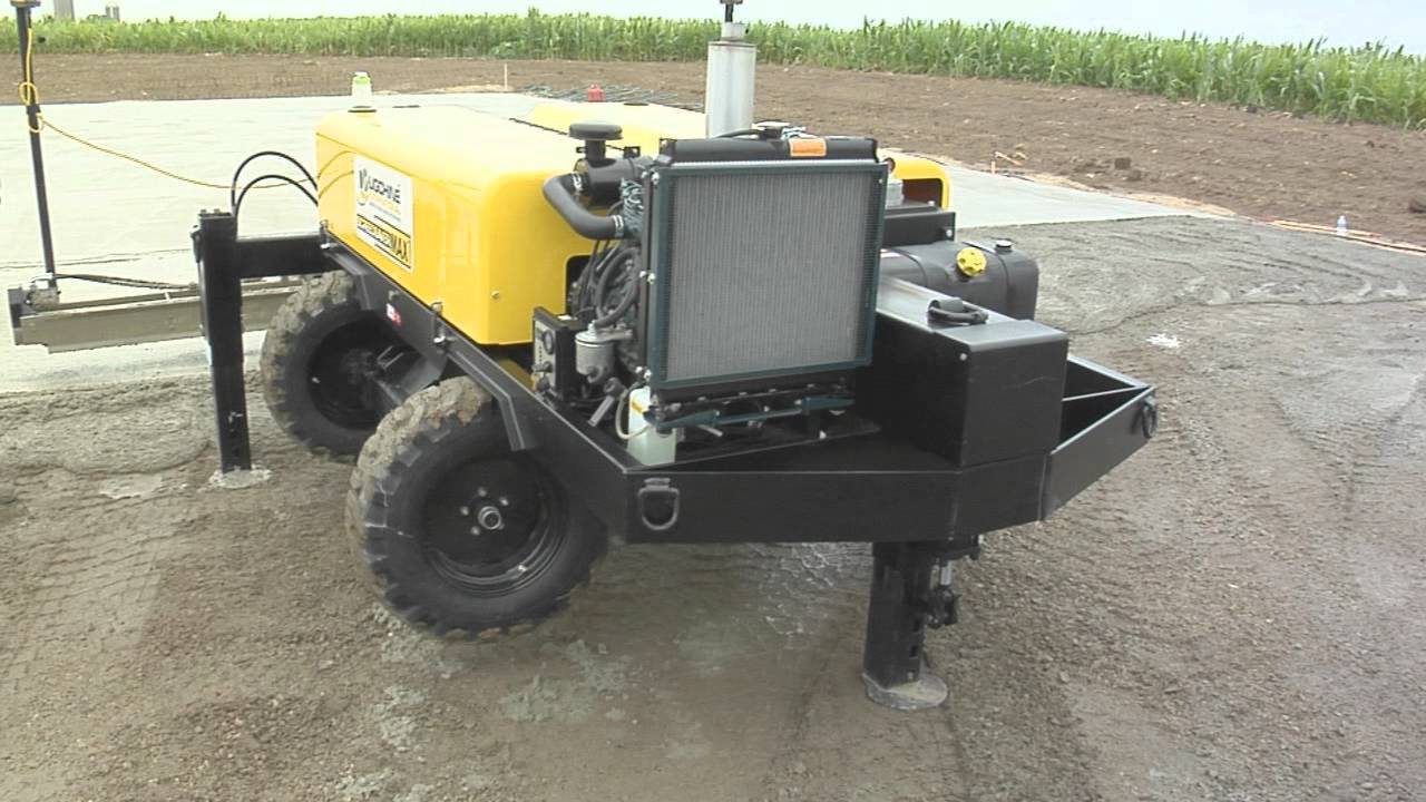 Ligchine Introduces Our Newest Laser Leveling Screed