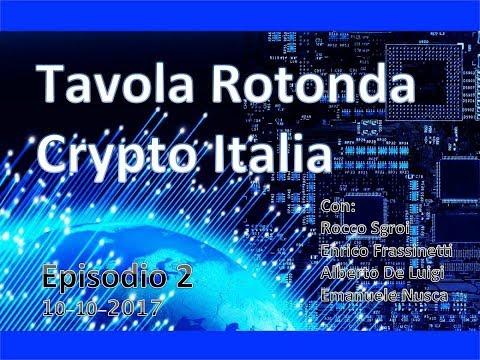 CRYPTO ITALIA TAVOLA ROTONDA - Ep.2 10-10-12017 h21:00