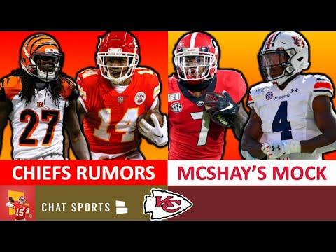 Chiefs Rumors: Sammy Watkins Trade? Signing Dre Kirkpatrick? + Todd McShay's Latest NFL Mock Draft