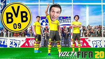 FIFA 20 VOLTA Story ☆Ich spiele jetzt für BORUSSIA DORTMUND! #03