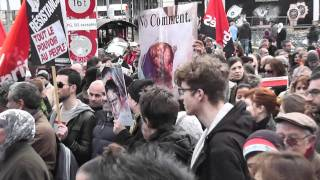 Libye Genève Manifestation du Samedi 26 / 2 / 11  le Peuple (CH)