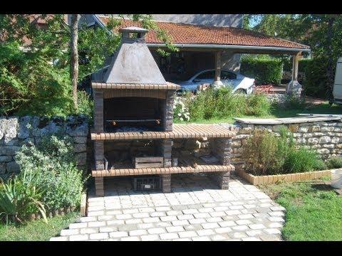 Barbacoas de obra modernas tienda online de nuestras - Barbacoas de obra para jardin ...