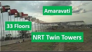 Amaravati updates: 33 Floors, NRT iCon Towers Foundation, Rayapudi Amaravathi, Guntur, Vijayawada