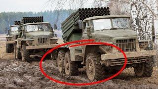 """Почему грузовик СССР """"Урал-375"""" вообще не буксовал на бездорожье?"""