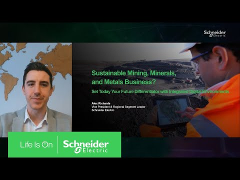Sustainable Mining, Minerals, and Metals Business | Schneider Electric
