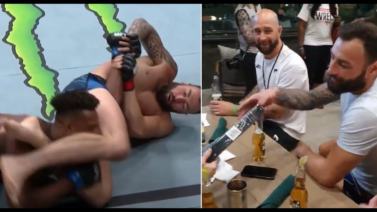 Paul Craig Earns Jiu-Jitsu Black Belt After Victory At UFC 263
