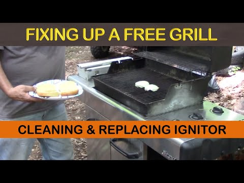 WEBER BBQ GRILL IGNITOR REPLACEMENT