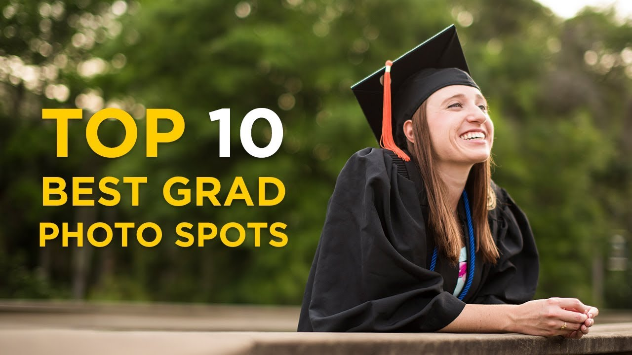 Top 10 Best Grad Photo Spots at UCF - YouTube