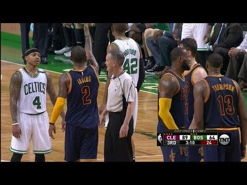 """OUCH! Kyrie Irving's """"Scoreboard"""" Response to Isaiah Thomas' Trash Talking Was BRUTAL"""