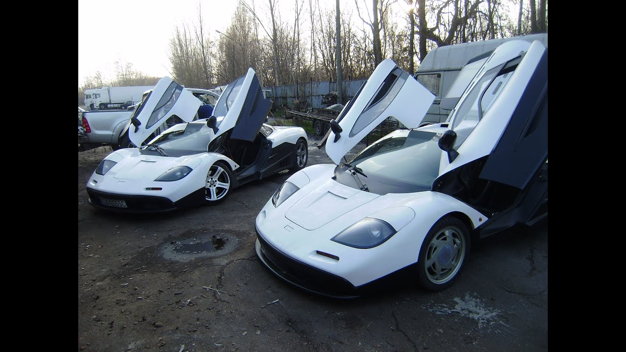 FOR SALE mclaren F1 replica 28 000$ kit car - YouTube