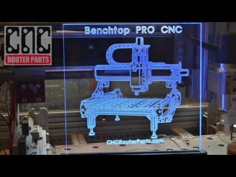Design and Make 3D Edge-lit Signs on your CNC Router Parts Machine Kit