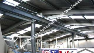 Oz Uk Csb Industrial Effluent Plant Steel Building