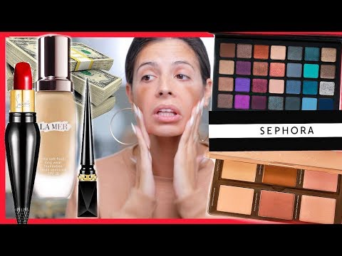 I BOUGHT THE MOST EXPENSIVE MAKEUP SEPHORA SELLS