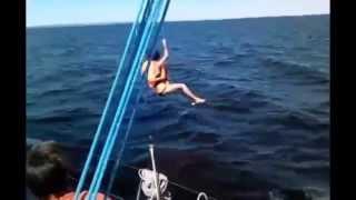 На парусной яхте. Жесть!(сами смотрите (: yacht(sipture), позитивное мышление, позитивное видео, позитивное настроен..., 2014-12-17T17:57:28.000Z)
