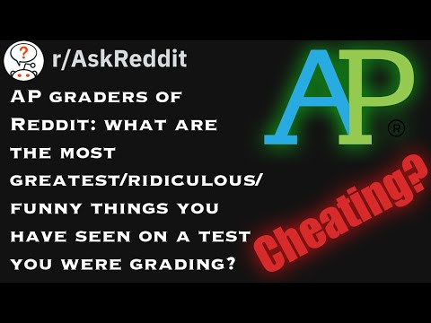 AP Graders Share Funny Things On AP Test They've Graded!