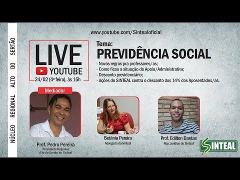 Previdência Social - Live - 24/02 - 15h