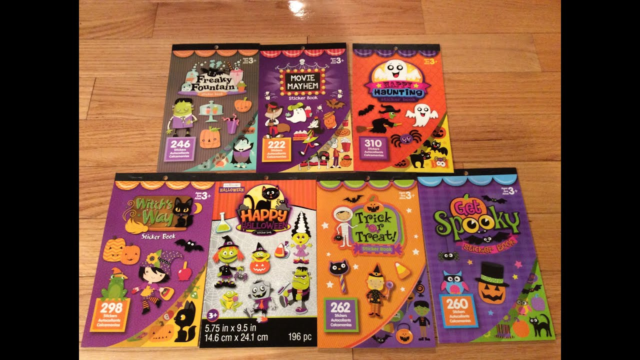 michaels crafty scrapbooking planner halloween sticker haul - Michaels Halloween