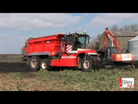 Vervaet Hydro Trike XL with Panien manure spreader body