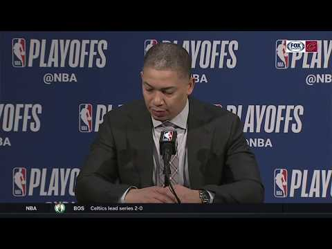 Tyronn Lue full postgame press conference after Cavs fall behind 2-1 to Pacers