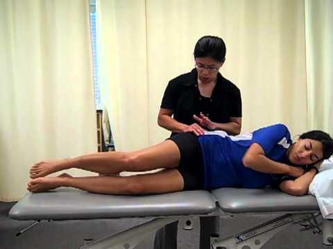 Iliopsoas muscle test