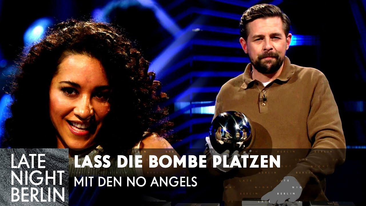 Busenblitzer vor dem spanischen König | Lass die Bombe platzen mit den No Angels | Late Night Berlin