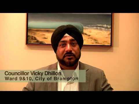 Vicky Dhillon, Brampton City Councillor