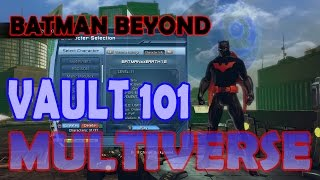 Dcuo Batman Beyond; Vault 101