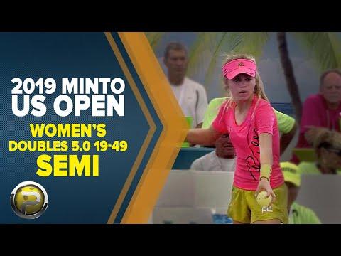 Women's Doubles 5.0 19-49 SEMI - 2019 Minto US Open Pickleball Championships