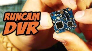 ☀ Записываем сигнал FPV без помех. Мелкий рекордер 20x20, обзор, тест [Runcam DVR Module]