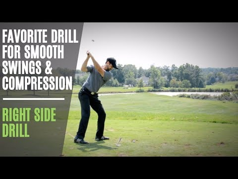 Perhaps The Best Golf Swing Drill To Improve Backswing | Get Great Ballstriking Compression