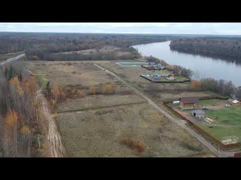 Участки на берегу реки Волхов