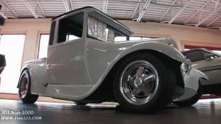 1929 Ford Custom Pickup for sale Flemings with test drive, driving sounds, and walk through video