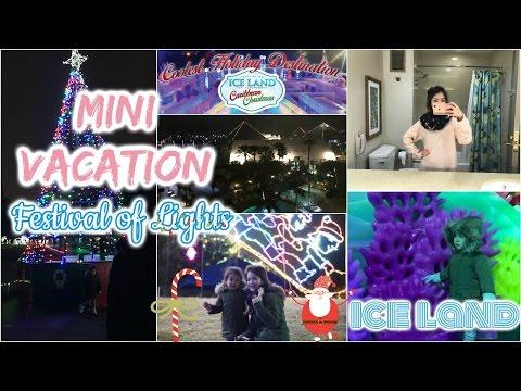 MINI VACATION [1] ♥ Thám hiểm ICE LAND Ngôi Nhà Băng Giá ♥Đi Coi Đèn Festival of Lights |mattalehang