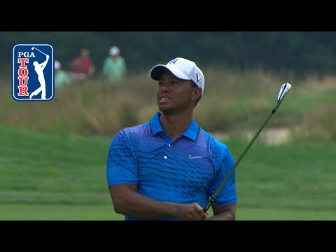 Best Of: Tiger Woods Approaches Into Par 5s