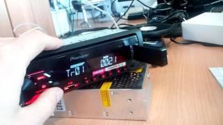 pioneer MVH-190UB  Pioneer TS-G1731i. Sound test