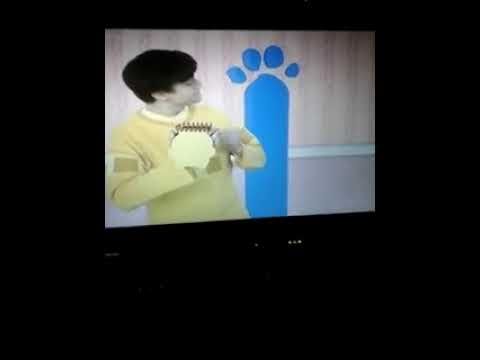 Blues Clues How To Draw Tall Pa Rint