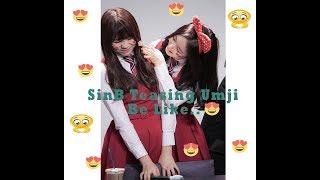 Gfriend Maknae Line (UmB Couple) - SinB Teasing Umji be like