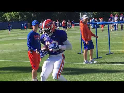 Highlights from Florida spring practice March 22