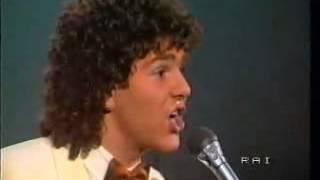 Michele Zarrillo - Una rosa blu (Festival di Sanremo 1982)