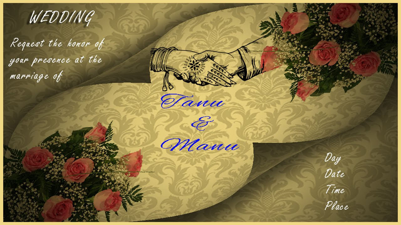 How to Design a Wedding Invitation Card in Photoshop with ESubs