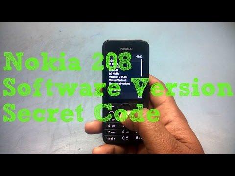 Nokia 208 Software Version Secret Code