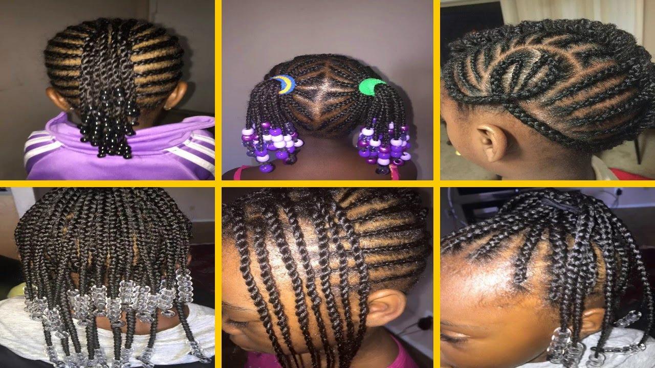 kids cornrow hairstyles - youtube