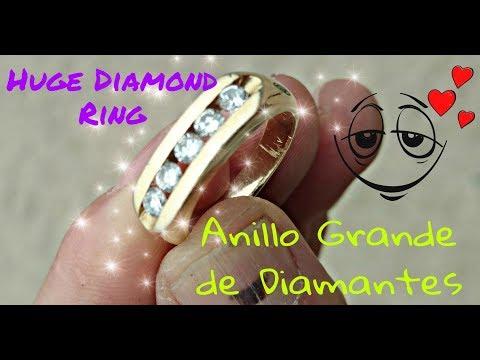 "Found ""DRUGS"", Silver & a Nice DIAMOND GOLD RING ! !  Tesoro Encontrado !"